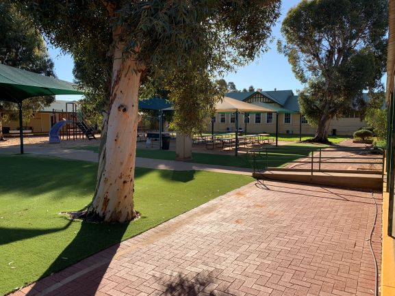 Camp Courtyard